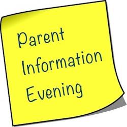 Upper School Transition Information Evening