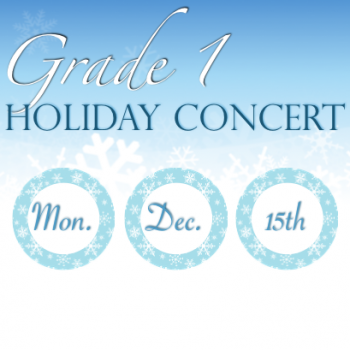Grade 1 Holiday Concert at the Oakville Elementary Campus @ Oakville Elementary Campus | Oakville | Ontario | Canada