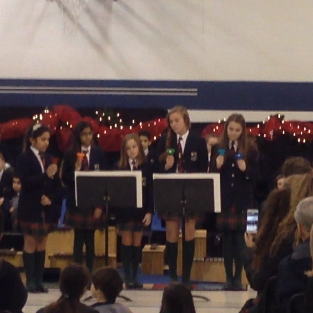 Our Bell Ensemble.... Christmas is coming!