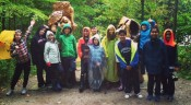 Grade 5's at Crawford Lake Conservation Area