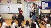 Grade 5 Students Welcome Author Richard Scrimger