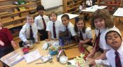 Making Apple Pies in Class 2B