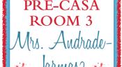 News from Pre-Casa Room 3