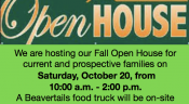 Join us at our Fall Open House